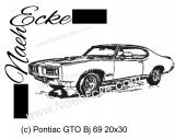 Stickdatei GTO Bj 69 20x30