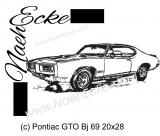 Stickdatei GTO Bj 69 20x28