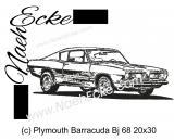 Stickdatei Barracuda Bj 68 20x30