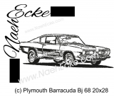 Stickdatei Barracuda Bj 68 20x28