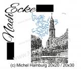 Stickdatei Michel Hamburg 20x20 / 20x28 / 20x30 Scrib-Art