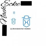 Stickdatei Brandzeichen Holstein 10x10