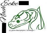 Stickdatei grüne Baumpython / Schlange 1 10x10