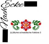 Embroidery  Swedish folklore 3 4x4
