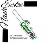 Stickdatei Canicross 2 ITH Schlüsselanhänger