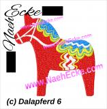Stickdatei Dala Pferd 6 10x10