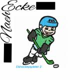Stickdatei Eishockey 2 10x10