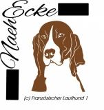 Datei Französischer Laufhund 1 SVG / EPS