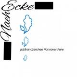 Stickdatei Brandzeichen Hannover Pony 10x10