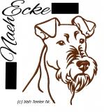 Stickdatei Irish Terrier Nr. 1 13x18