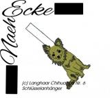 Stickdatei Chihuahua Nr. 6 Langhaar SA