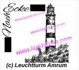 Stickdatei Leuchtturm Amrum 20x20 / 20x28 / 20x30 Scrib-Art