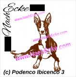 Stickdatei Podenco Ibicenco Nr. 3 13x18