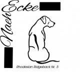 Stickdatei Rhodesian Ridgeback Nr. 5 13x18
