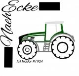 Stickdatei Traktor FV 924 10x10