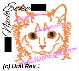 Stickdatei Ural Rex 10x10