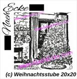 Stickdatei Weihnachtsstube 20x20 / 20x28 / 20x30 Scrib-Art