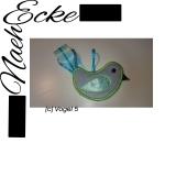 Embroidery Bird 5 flower bird