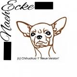 Stickdatei Chihuahua Nr. 1 13x18