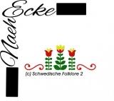 Stickdatei Schwedische Folklore 2 13x18