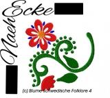 Embroidery  Swedish folklore 4 14x4